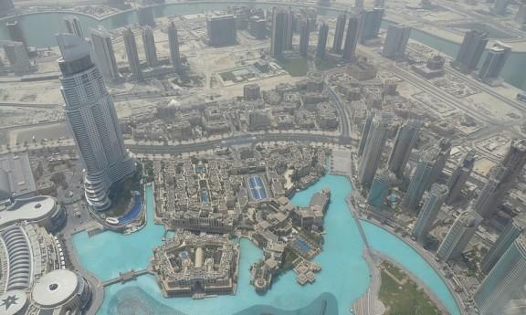Dalt del Burj Khalifa