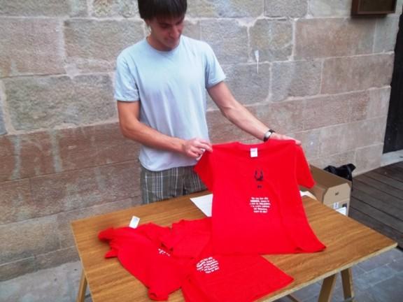 Nova samarreta dels Geganters de Solsona
