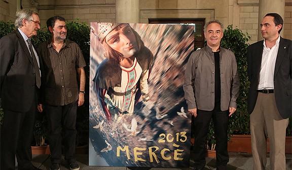 Un «gegant-superheroi», la imatge de La Mercè 2013