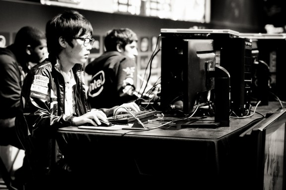 TOP, jugador expert en Starcraft de l'equip oGs