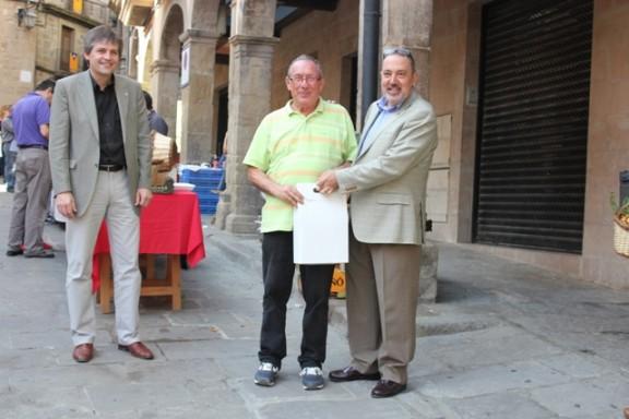 Lliurament dels premis dels concursos de la Fira del Bolet de Solsona