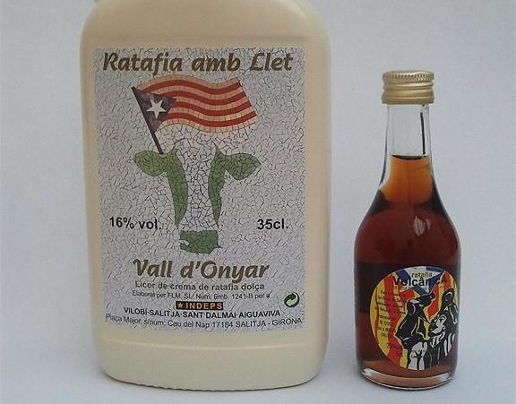 Guanyadors de les tres ampolles de Ratafia amb Llet i Ratafia Volcànica