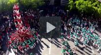 Vés a: Espectacular «time-lapse» de la diada castellera de la Mercè