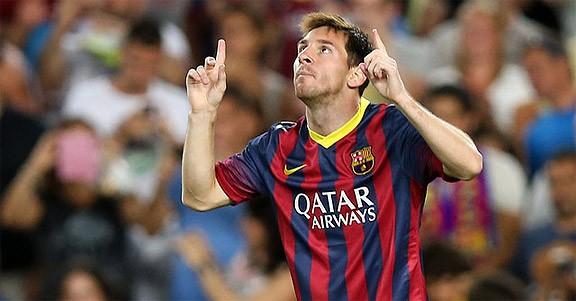 Una sardana per a Leo Messi