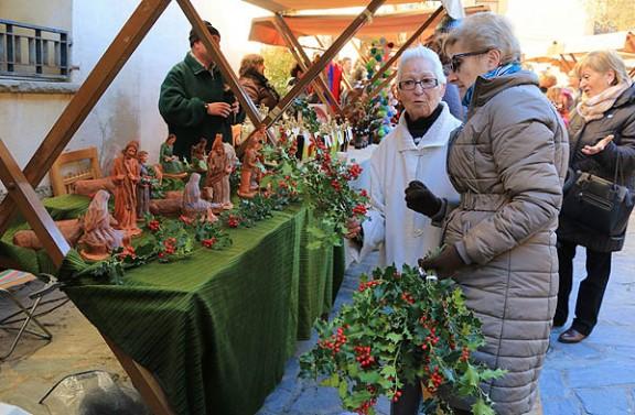 Les fires de Santa Llúcia anuncien el Nadal a Osona