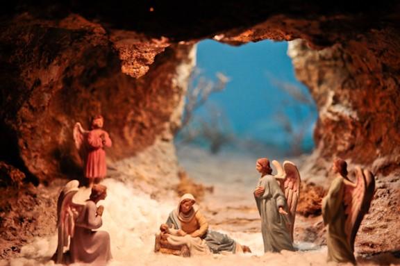 La Mostra de Pessebres d'Olot es pregunta si realment Jesús va néixer en una establia