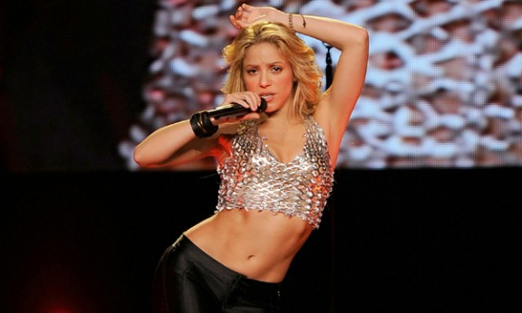 Shakira, en una imatge d'arxiu a Nova York