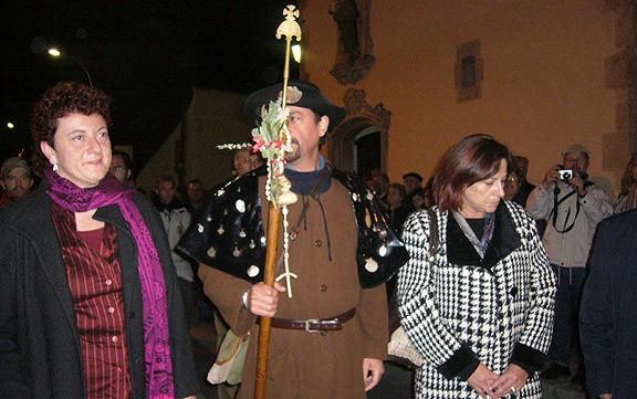 Santa Coloma de Farners, a punt per rebre al Pare Pelegrí de Tossa