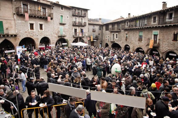 La fesolada de Santa Pau fa 25 anys