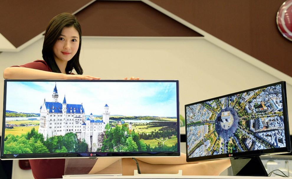 Els televisors 4K han estat un dels protagonistes de la edició d'enguany de la fira