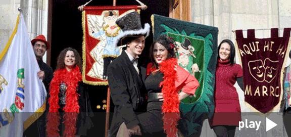 El Rei i la Reina presenten el Carnaval de Tarragona