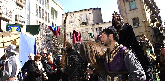 La Fira de l'Aixada de Manresa presenta noves peces teatrals