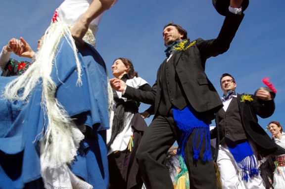 El ball de gitanes al Baix Montseny recorda el coreògraf Joan Serra
