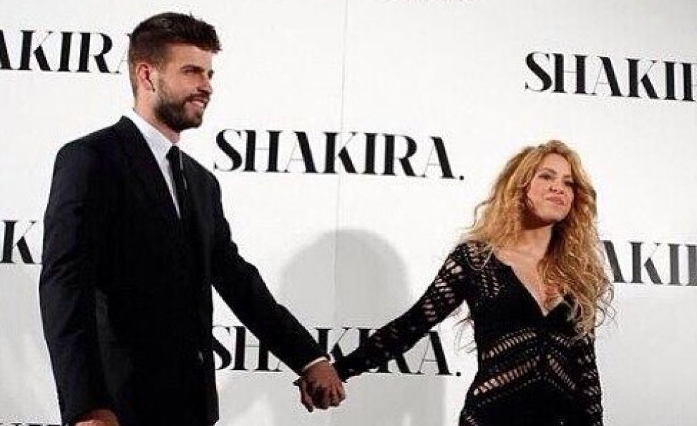 Gerard Piqué i Shakira.