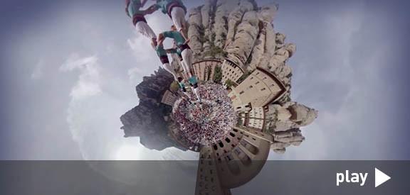 Els Verds a Montserrat a 360º