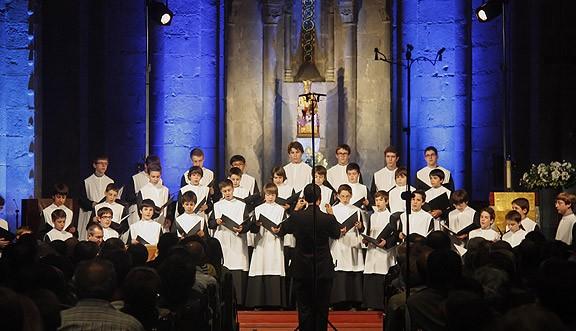 L'Escolania inaugura el festival de Música Antiga del Pirineu