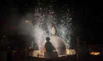 El barri del Ninot de Ripoll crema la seva «falla»