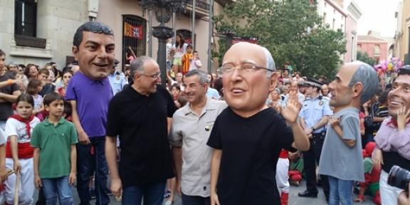 Salvador Cardús és el Capgròs de Terrassa de l'any 2014