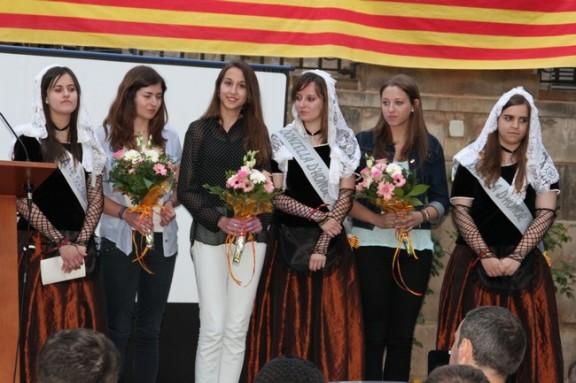 Anna Segués, Clàudia Cases i Núria Cardona, noves representants del pubillatge solsoní