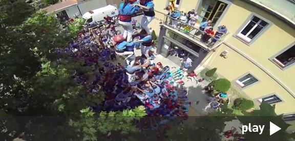 Espectacular video del 2de8f de Marrecs vist des de dalt