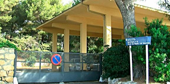 Entrada de la Ciutat Residencial de Tarragona.