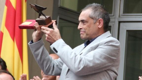 Manel Casserras i Solé, distingit geganter d'honor a Solsona