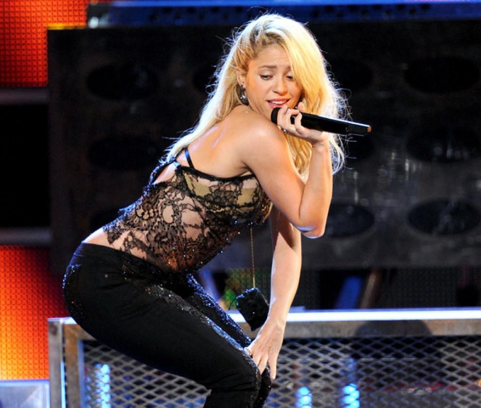 Shakira, en una imatge d'arxiu