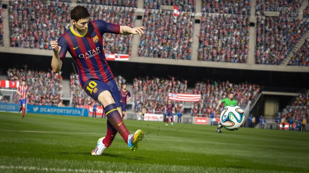 Imatge de Leo Messi al FIFA 15
