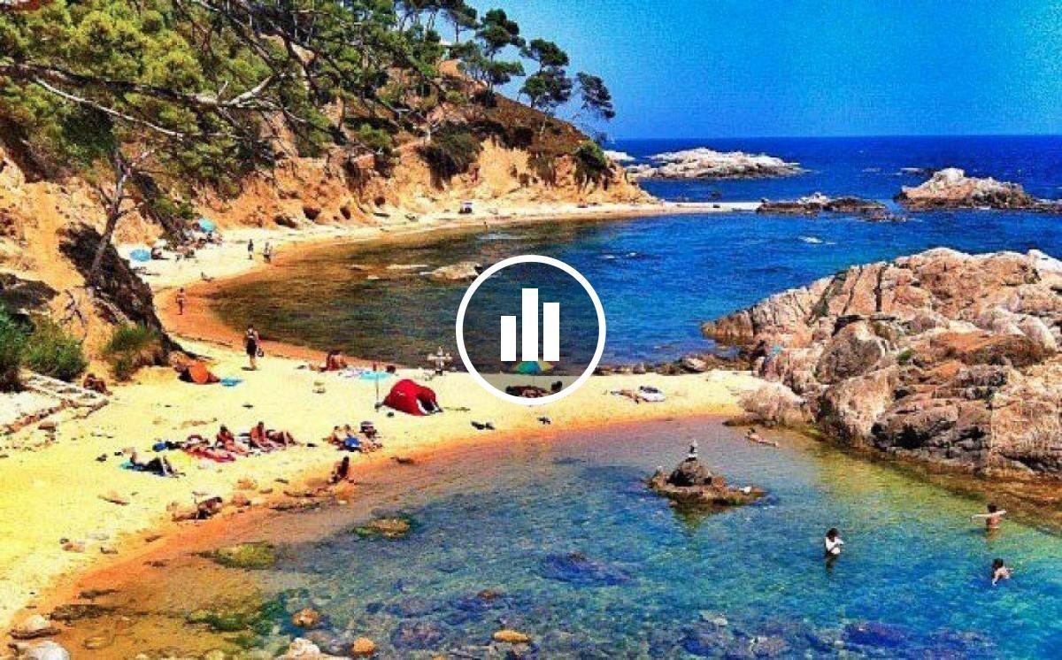 Un passeig per platges paradisíaques sense sortir d