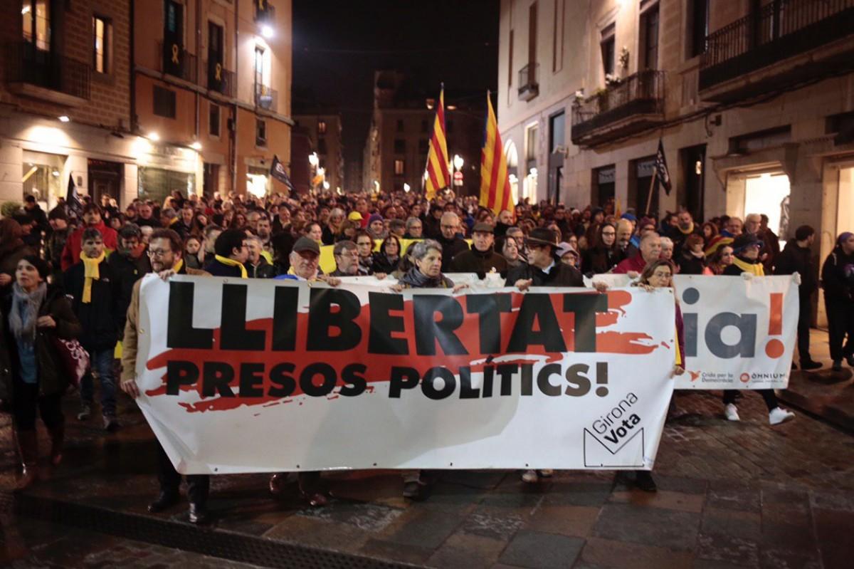 Tancada A La Universitat De Girona Per Evitar Una Nova Detencio