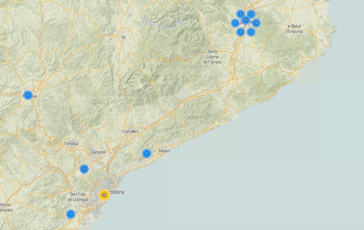 Mapa Interactiu Municipis Catalunya.Mapa Interactiu Tots Els Casos De Coronavirus A Catalunya Naciodigital
