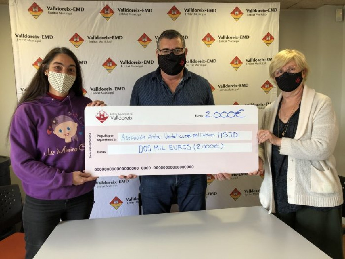 Valldoreix signa un conveni per finançar la unitat de cures pal·liatives de l'Hospital Sant Joan de Déu