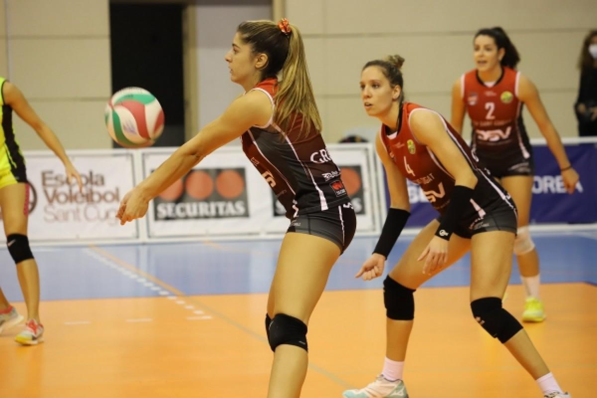 S'ajorna el partit del DSV Club Voleibol Sant Cugat per un cas positiu de Covid en l'equip canari