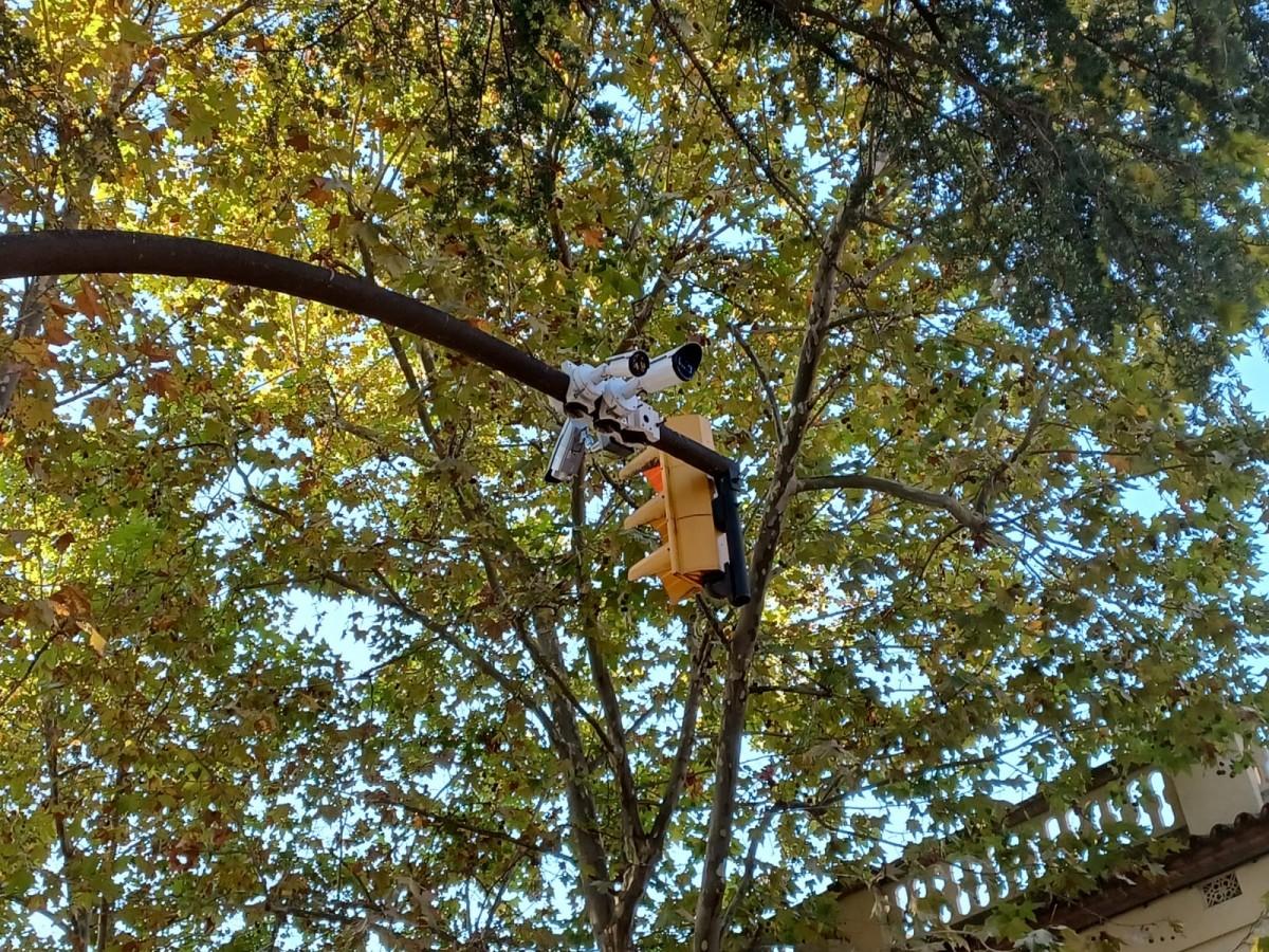 Aquests són els cinc punts on s'ubiquen les càmeres que detectaran els infractors de la ZBE de Sant Cugat
