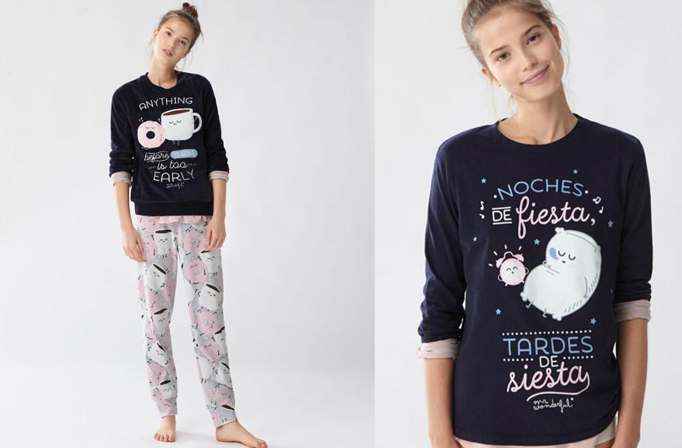 af32677012 Moda chicas  ¡pijamas para estar a gusto en casa! Adolescentes ...